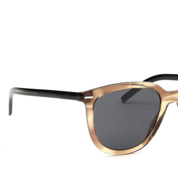 DIOR BLACKTIE255S Striped Brown - 3/4