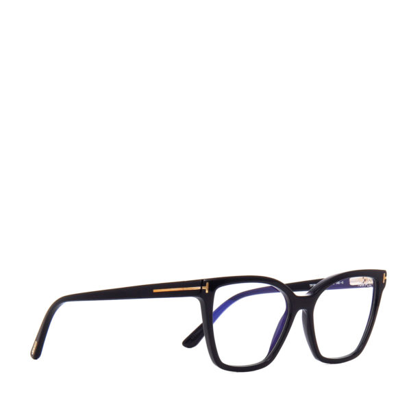 TOM FORD FT5641 B BLUE CONTROL 2x SUN CLIPS-ON - 4/5
