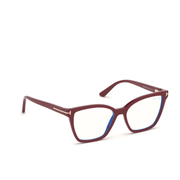 TOM FORD FT5641 B BLUE CONTROL 2x SUN CLIPS-ON - 3/4