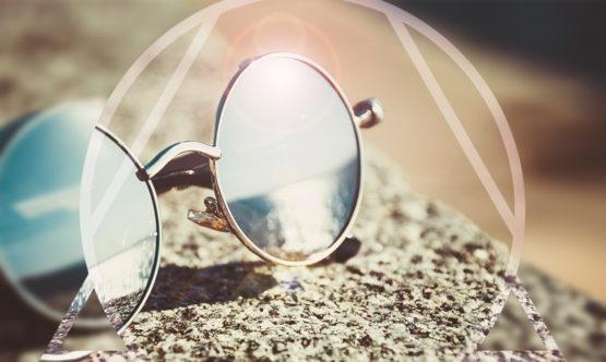 come pulire gli occhiali da sole