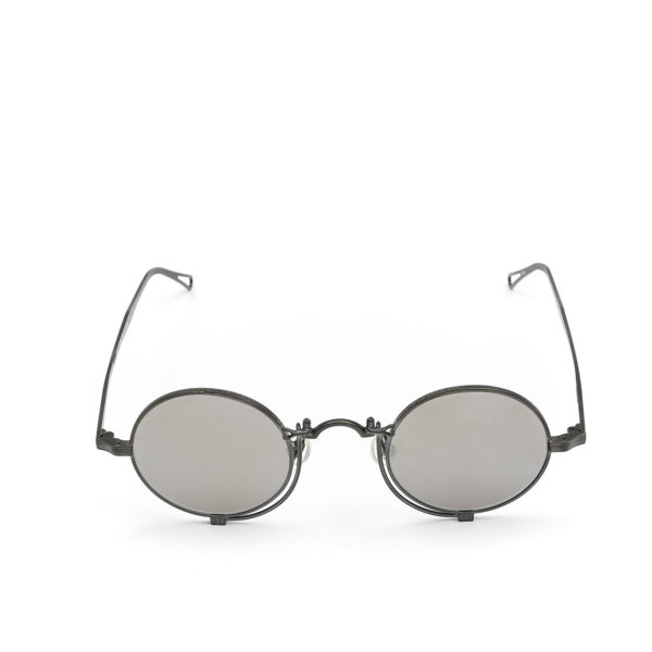 MATSUDA 10601H Matte Black (Grey Lens) - 1/4