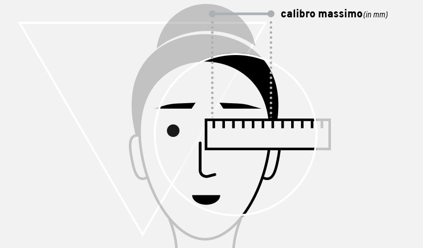 come capire la misura giusta degli occhiali