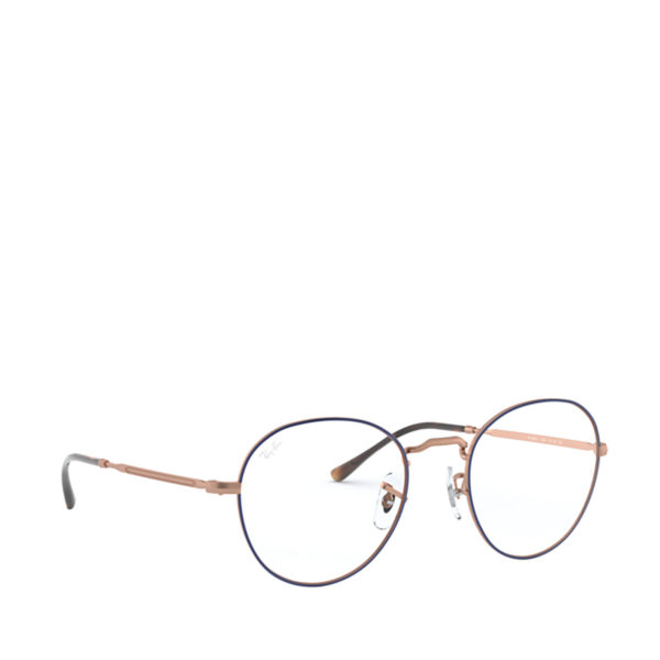 RAY-BAN RX3582V ROUND METAL II Blue / Copper - 2/3