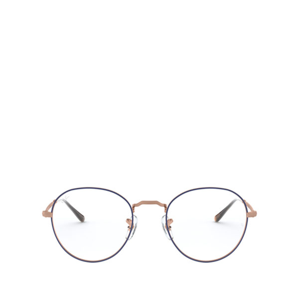 RAY-BAN RX3582V ROUND METAL II Blue / Copper - 1/3