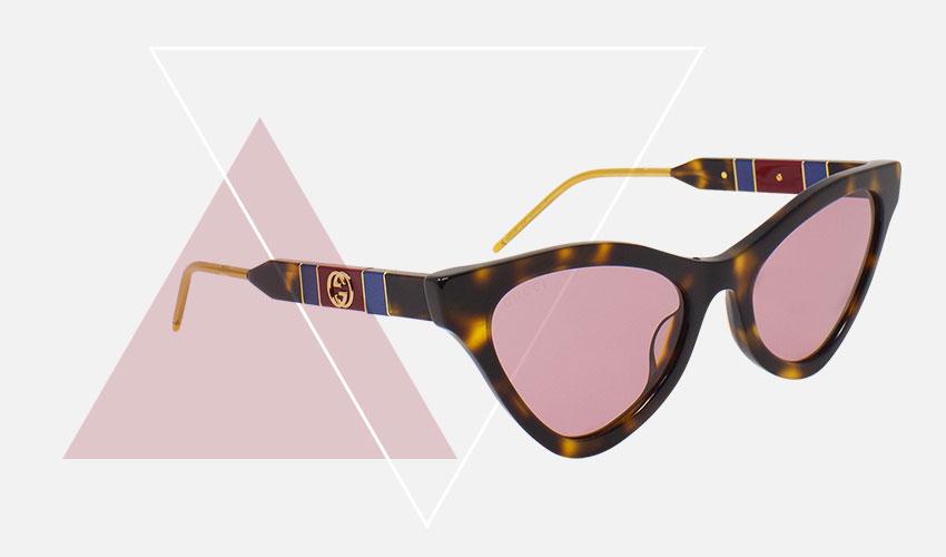Occhiali da sole Cat-Eye (occhi di gatto) Gucci ® GG0597S