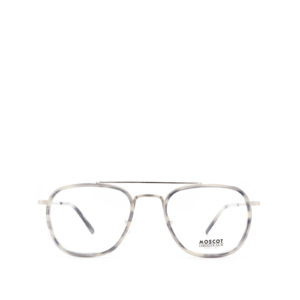MOSCOT MACHER Grey Tortoise/silver