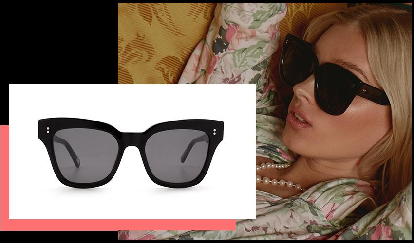 Occhiali da Sole Chimi Eyewear, modello #005, colore Berry Black.