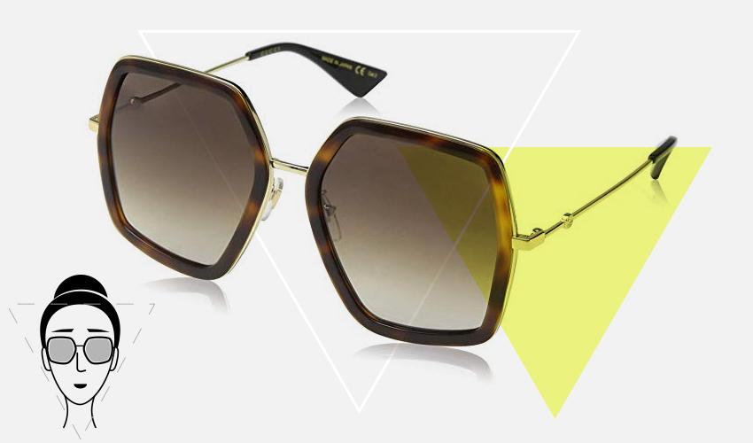 Best eyewear frame shapes for a V shaped face