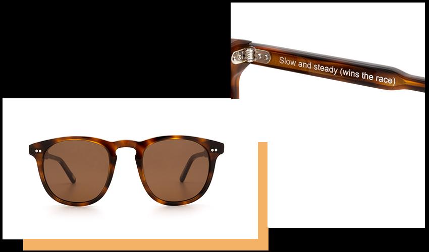 Occhiali da Sole Chimi Eyewear, modello #001, colore Tortoise.