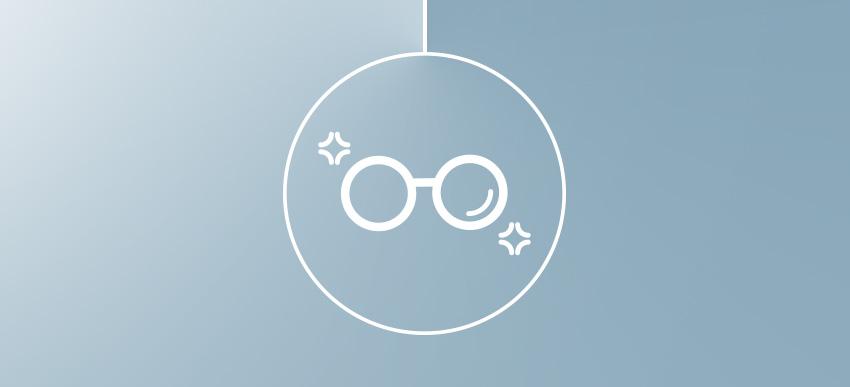 Grazie alla garanzia, ricevi gli occhiali con le lenti riparate direttamente a casa.