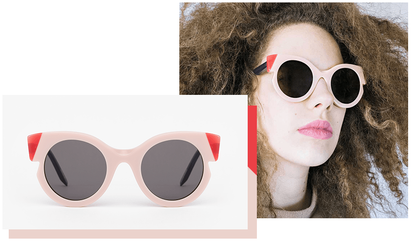 Portrait Eyewear Sunglasses: Das Model