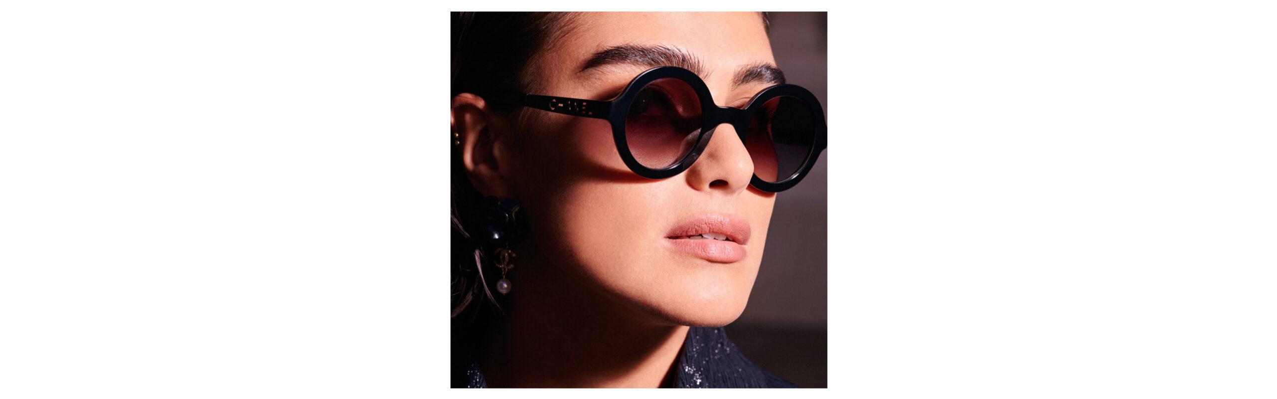 banner Chanel Sunglasses
